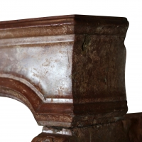 Italian Antique Fireplace With Amazing Patina For Cosy and Bespoke Interior