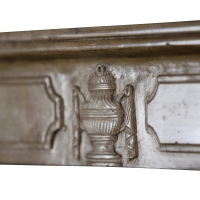 Fine European Salvaged Fireplace in Limestone