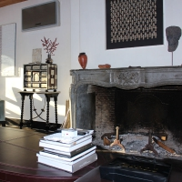 Fine Timeless Antique Fireplace Surround in Stone From The Directoire Period